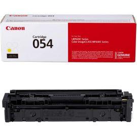 Cartouche de toner d'origine Canon, cartouche 054 jaune (3021C001) 1 pack, pour imprimantes laser couleur Canon