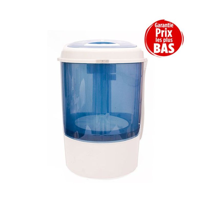 Nasco Machine à Laver Semi-automatique MTT30-WP1604 - Bleu/Blanc - Garantie 12 Mois