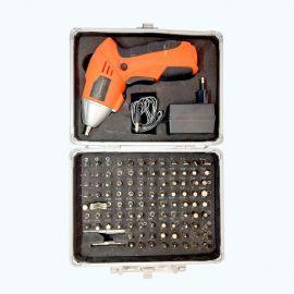 Visseuse Sans Fil 4,8V + 104pcs D'Accessoires - SFS48C - Multicolore