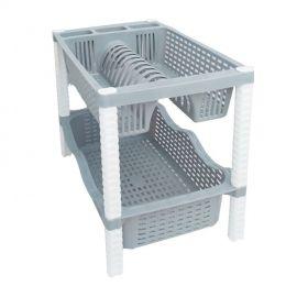 Égouttoir à Vaisselle - 2 Niveaux - Plastique