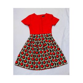 robe rouge noir