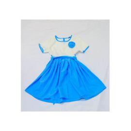 Robe Bleu- Blanc