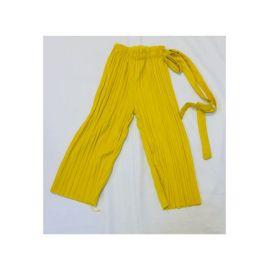Pantalon Plissé avec corde