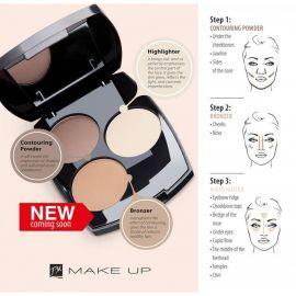 Frederico Mahore_Make Up_Contour Kit_6,6 g