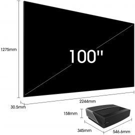 Téléviseur LASER INTELLIGENT Hisense 100 pouces 100L5 UHD