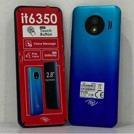 Itel IT 6350 - 2 Sim - 4MB ROM - 4MB RAM 1500mAh - Tactile