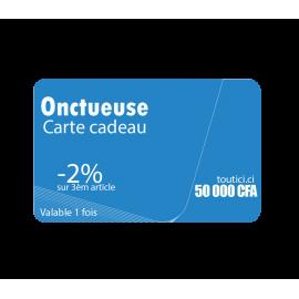 "Carte cadeau "" ONCTUEUSE """