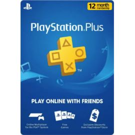 Playstation PSN Card 12 mois membres