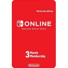 3 mois d'abonnement au Nintendo eShop