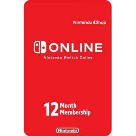 Abonnement de 12 mois au Nintendo eShop
