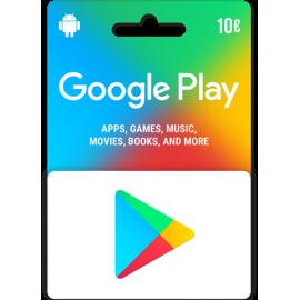 Carte Cadeau Google Play - Europe
