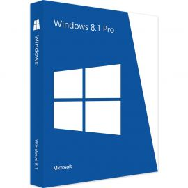 Microsoft Windows 8.1 Professionnel 32/64 Bit - (clé de produit)