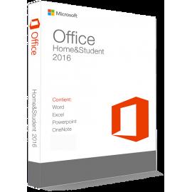 Microsoft Office 2016 Home & Student 32/64 Bit - (clé de produit)
