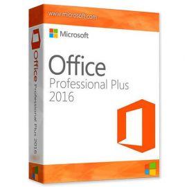 Microsoft Office 2016 Professionnel Plus 32/64 Bit - (clé de produit)