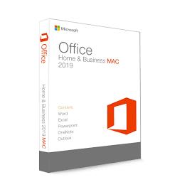 Microsoft Office 2019 Home & Business pour Mac - (clé de produit)