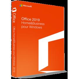 Microsoft Office 2019 Home & Business 32/64 Bit - (clé de produit)