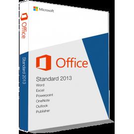 Microsoft Office 2013 Standard 32/64 Bit (Home & Business) - (clé de produit)