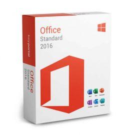 Microsoft Office 2016 Standard 32/64 Bit (Home & Business) - (clé de produit)