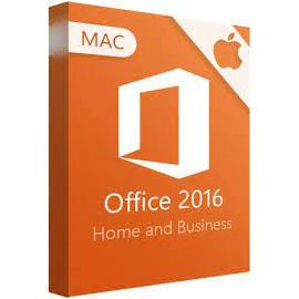 Microsoft Office 2016 Home & Business pour Mac - (clé de produit)