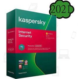 Kaspersky Internet Security 2021 - 4 Postes - Français