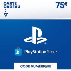Carte PSN 75 EUR Code de téléchargement (PS5/PS4/PS3)