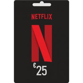 Carte cadeau Netflix 25 euros