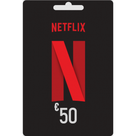 Carte cadeau Netflix 50 euros