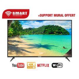 TELEVISION 50″ SMART TECHNOLOGYHDMI FHD + DVB + T2 + S2 + WIFI + SUPPORT (50STT-5008SA)