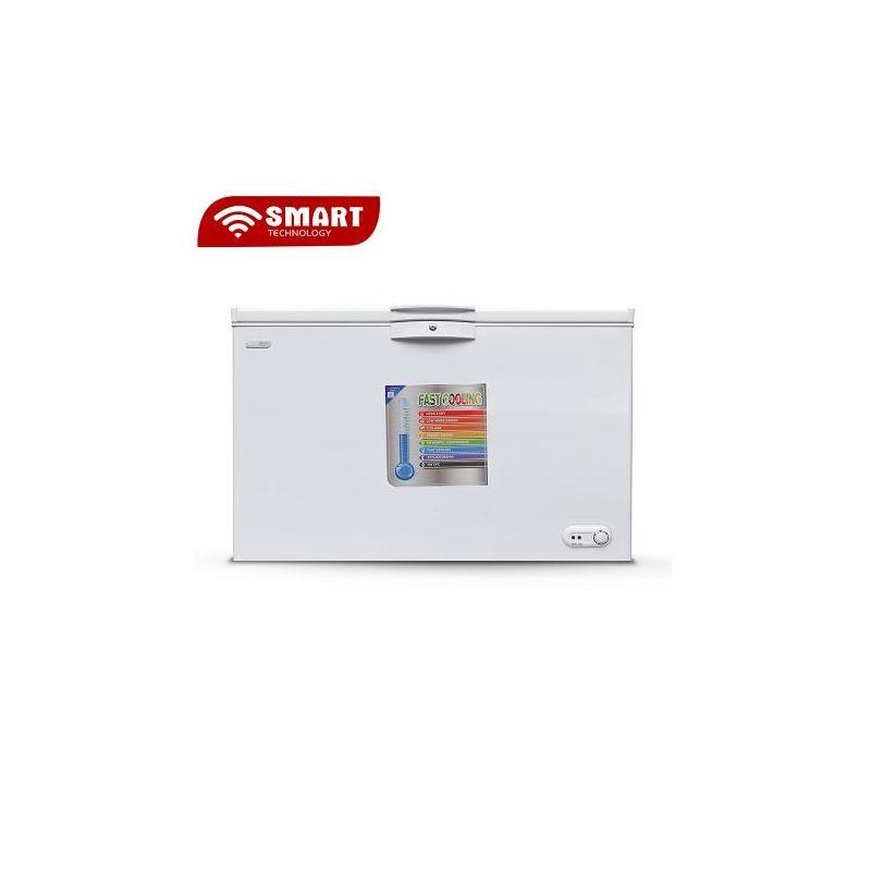 SMART TECHNOLOGY Congélateur STCC-275 - 235 L - Blanc - Garantie 12 Mois