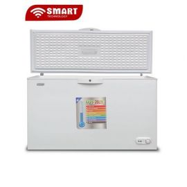 SMART TECHNOLOGY Congélateur Horizontal Avec Clef - STCC-550 - 399L - Blanc - Garantie 12 Mois