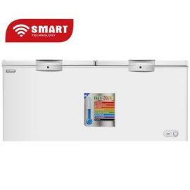 SMART TECHNOLOGY Congélateur Couché Avec Vitre à L'intérieur - 600 Litres - STCC-720