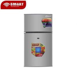 PARTAGEZ CE PRODUIT   SMART TECHNOLOGY Réfrigerateur 2 Battants-STR-195H -95 L - Argent - 12 Mois Garantie